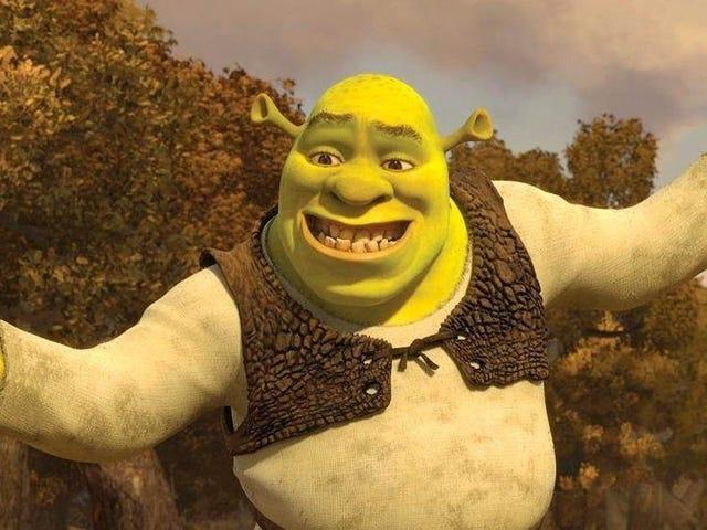 Some-BODY vertelde me ooit dat <i>Shrek</i> wordt opgestart