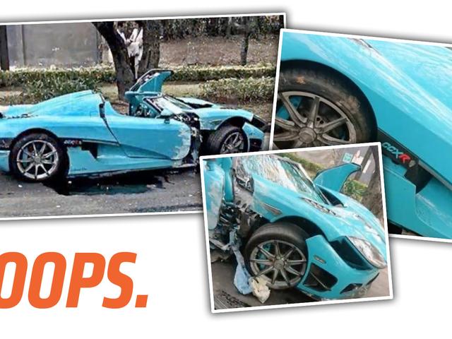Một trong hai người đặc biệt hiện tại của Koenigsegg CCXR đã bị đắm ở Mexico