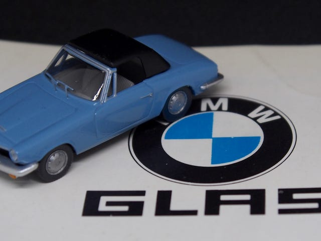 ///May - The BMW That's Not A BMW: 1600 GT Cabrio 1/87