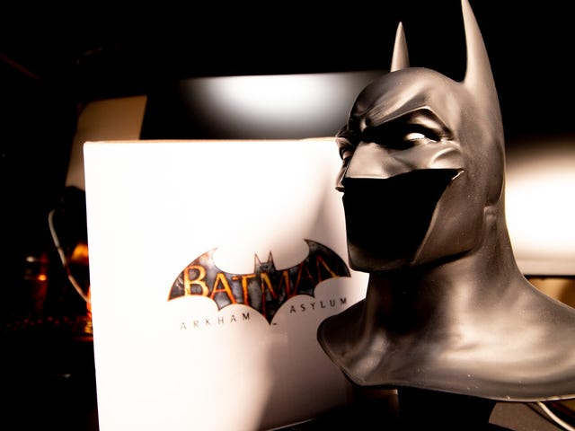 I Wish I Could Wear This Wee Arkham Asylum Batman Cowl