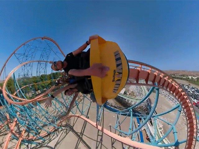 Este Trippy Roller Coaster Ride-Along vai fazer você vomitar mais rápido do que a coisa real