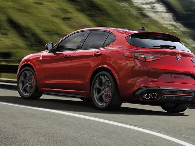 The 2018 Alfa Romeo Stelvio Quadrifoglio Is The Most Expensive Alfa You Can Buy At $81,590