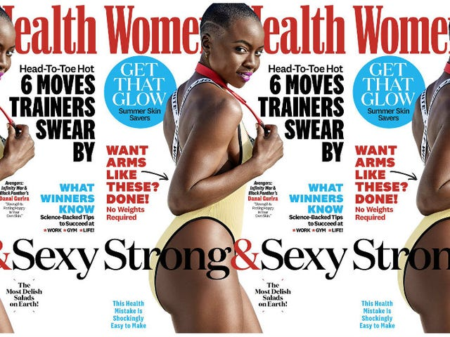 Way of the Warrior: Danai Gurira Tells Us How She Stays So Strong and Sexy in Women's Health