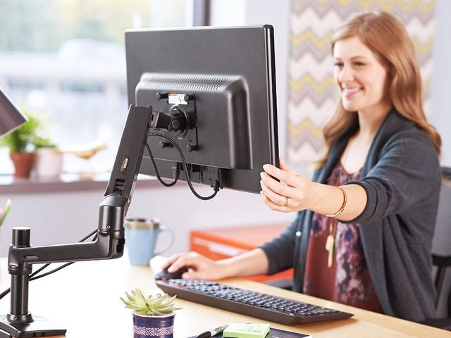 Your Monitor Can Do Gymnastics With This Discounted Arm