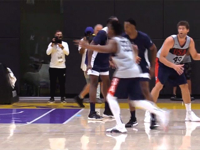 Team USA Routed In Bleak Scrimmage Against D-League Crew