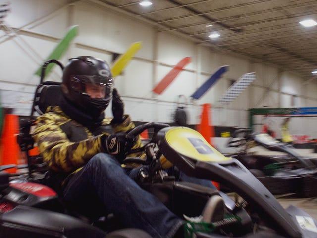 Rappel: le karting à Detroit ce samedi.  Êtes-vous dedans?