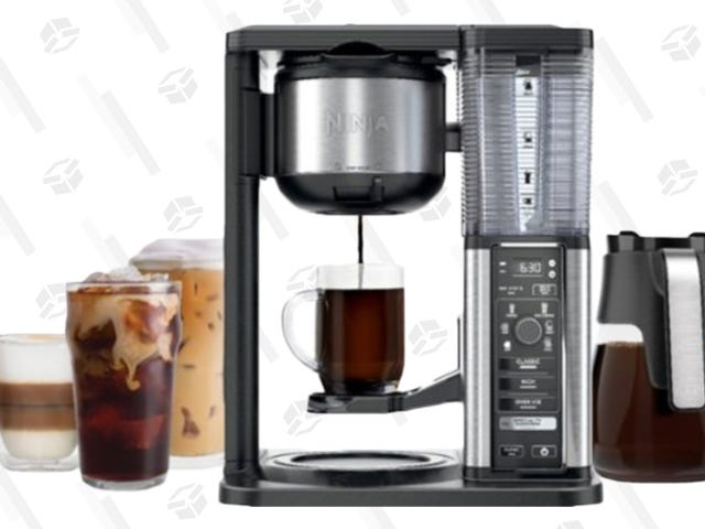 This $85 Ninja Coffee Maker Lets You Caffeinate To Your Heart's Content