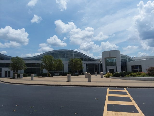 The Mercedes Benz Visitor Center :D