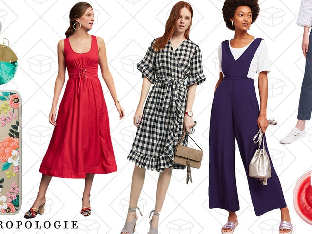 Grab an Extra 25% Off Anthropologie's Entire Sale Section