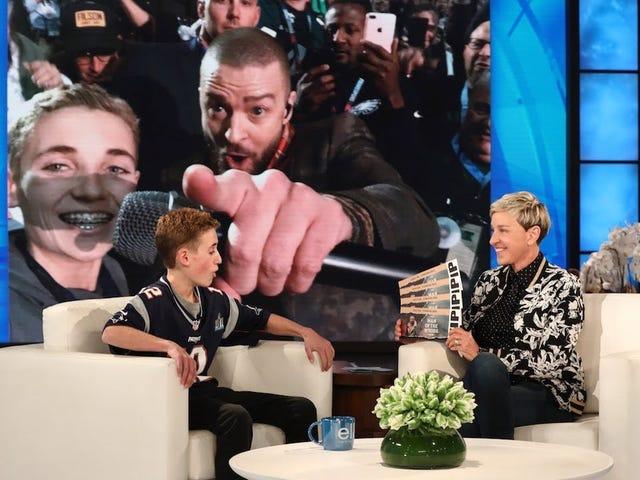 Zauważone: ktoś, kto rzeczywiście chce rozmawiać z Justin Timberlake