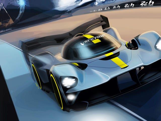 Это происходит: Астон Мартин возьмет валькирию в класс Re1 GT1 в стиле Ле-Мана в 2021 году