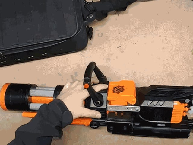 A Talented Modder Turned Nerf's 70 MPH Rival Blaster Into a 2,000-Round Spinning Minigun