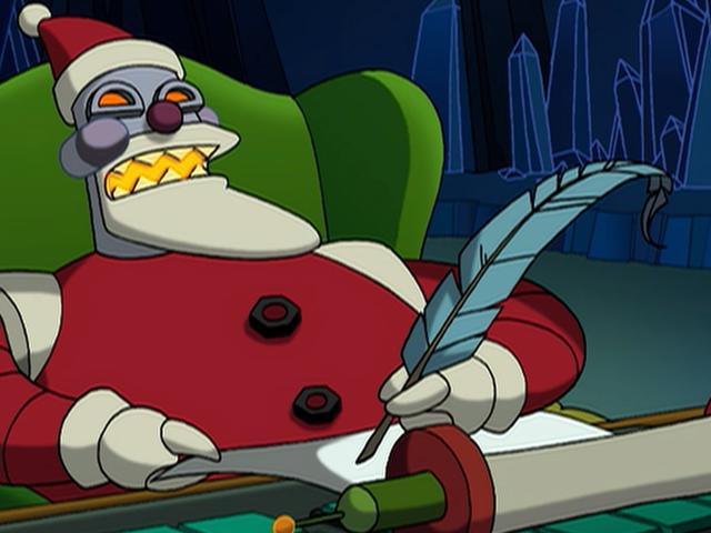 Robotti Santas, sijoitus