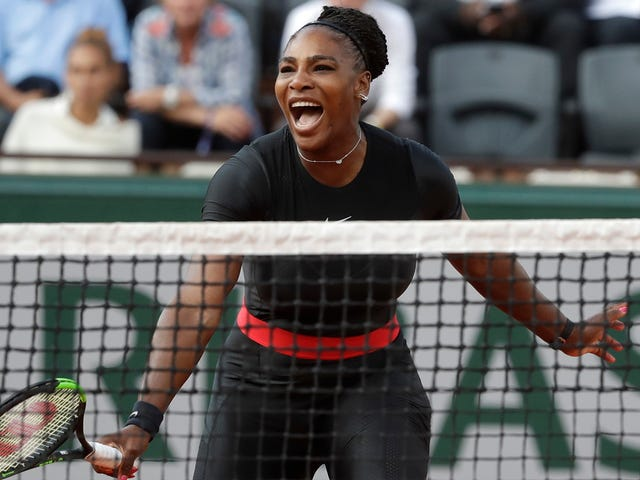 This Is What It Looks Like When Serena Williams Takes Over