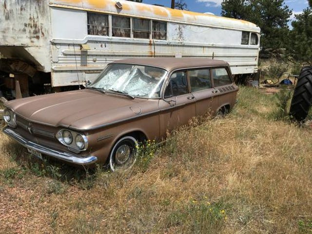 Found on Craigslist: brown, RWD wagon with an air cooled flat six for under $200