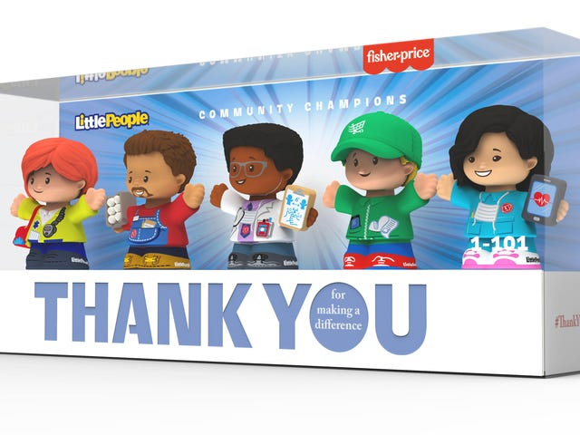 Thank You, Heroes: Fisher-Price's New Line of 'Little People' Honors 'Community Champions'