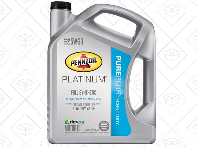 Prep For Your Next Oil Change With Five Quarts of Synthetic For Just $9