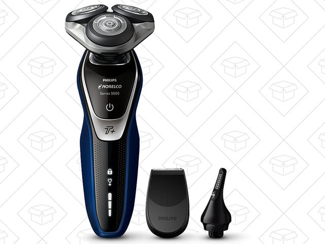 This Electric Razor Can Also Do Sideburns and Nose Hair