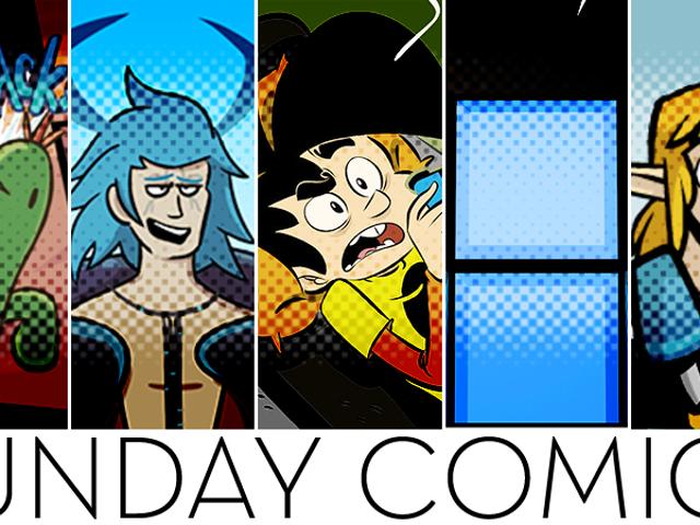 Sunday Comics: Boomerang Maester