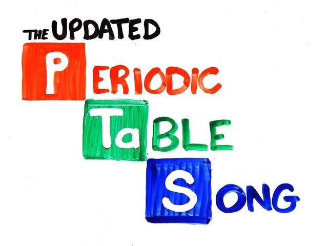 The Periodic Table Song - ASAP Science