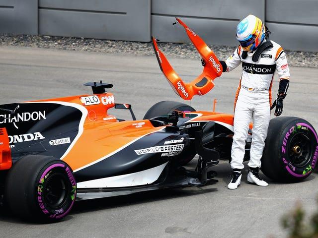 New Amazon Documentary Series Goes Inside McLaren's Awful 2017 F1 Season
