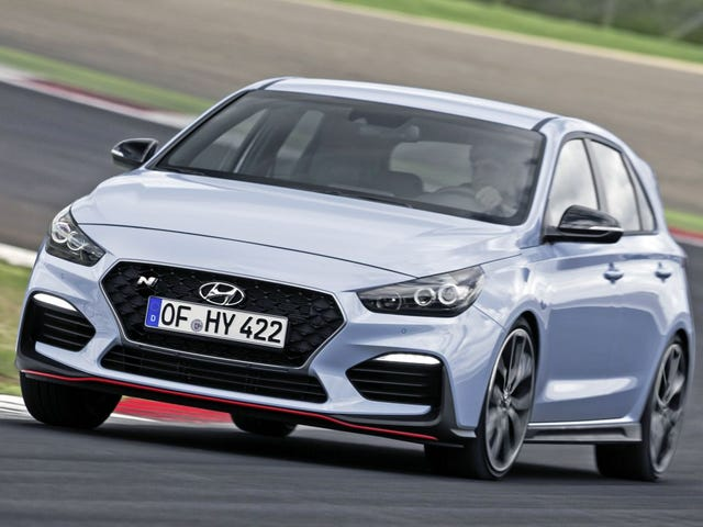 Just test drove a Hyundai i30 N