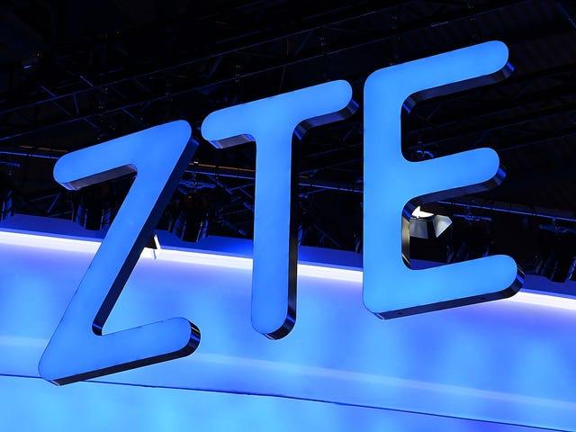 Fresh Off-prøvetid for krænkelse af sanktioner, ZTE angiveligt under efterforskning for bestikkelse