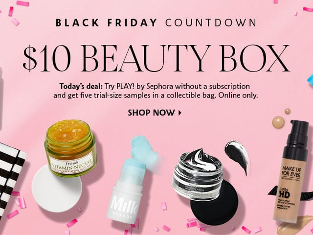 You Can Get Your Own $10 Sephora PLAY! Beauty Box Without a Subscription