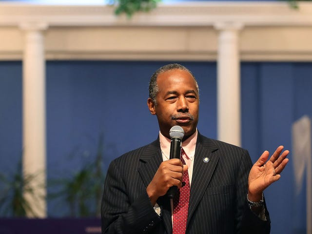 Ben Carson Takes Job at Housing Department Quite Literally, Purchases $31,000 Dining Set