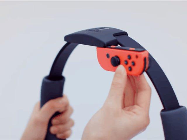 Le nouveau jeu de fitness de Nintendo met la joie dans des endroits étranges