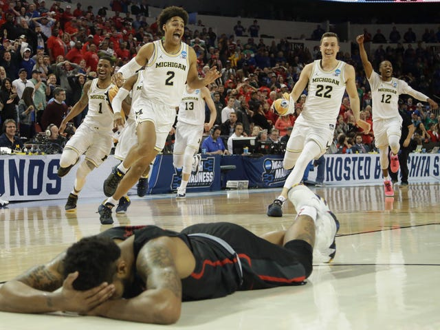 Michigan's Miracle Victory Cost The Utter Devastation Of Houston's Devin Davis
