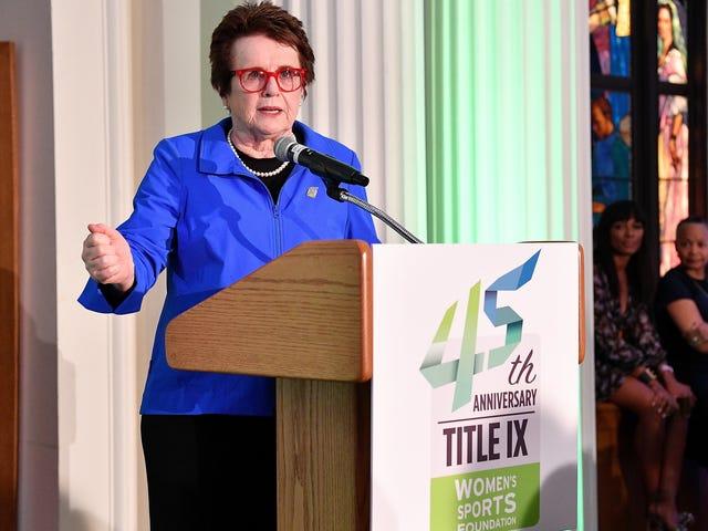 'Godmother of Title IX' Dr. Bernice Sandler Dies