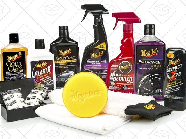 Keep Your Car Showroom-Shiny With These Meguiar's Deals