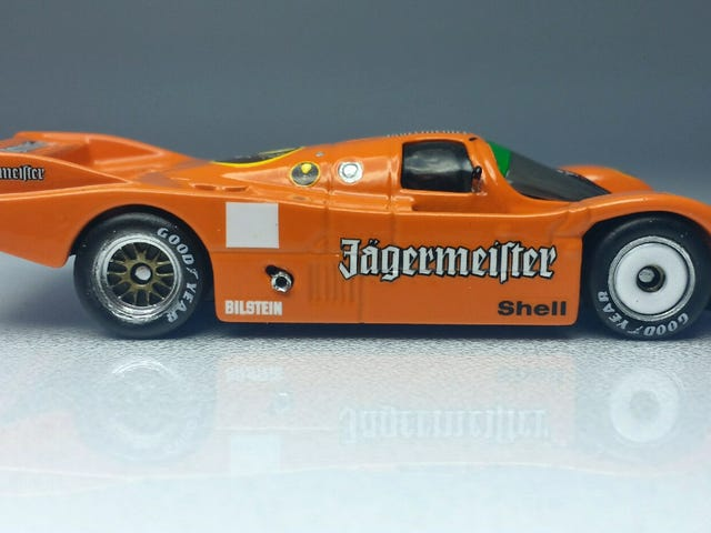 Rennsport Reunion: Jager Bombing in a 962