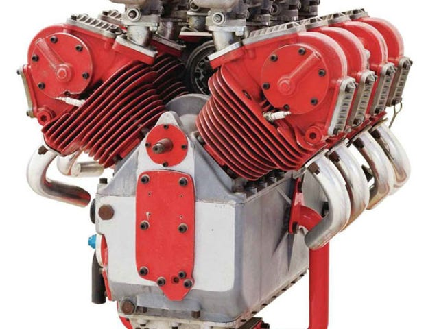 Ducati v8: 1,5 liter, 170hk, aldrig installeret.