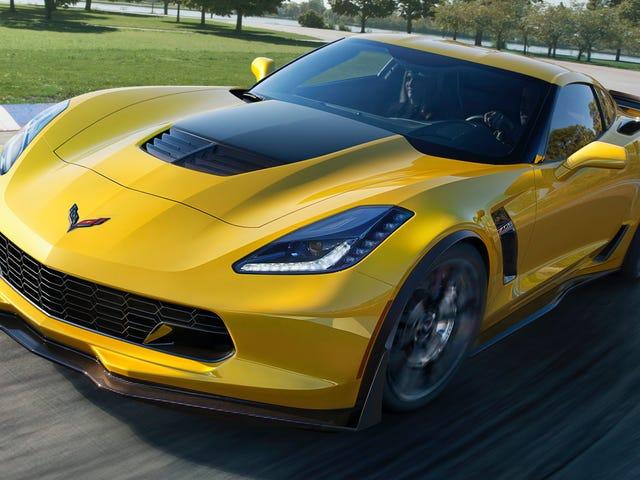 Last Front-Engine Corvette vil blive auktioneret til velgørenhed i juni