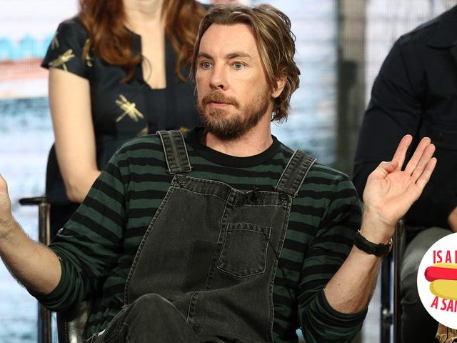 Hey Dax Shepard, is a hot dog a sandwich?