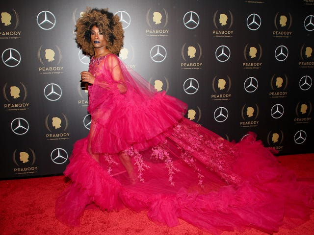 Billy Porter Does It Again: The Pose Star Wears Upcycled, Gender Fluid Glamour to the 2019 Peabody Awards