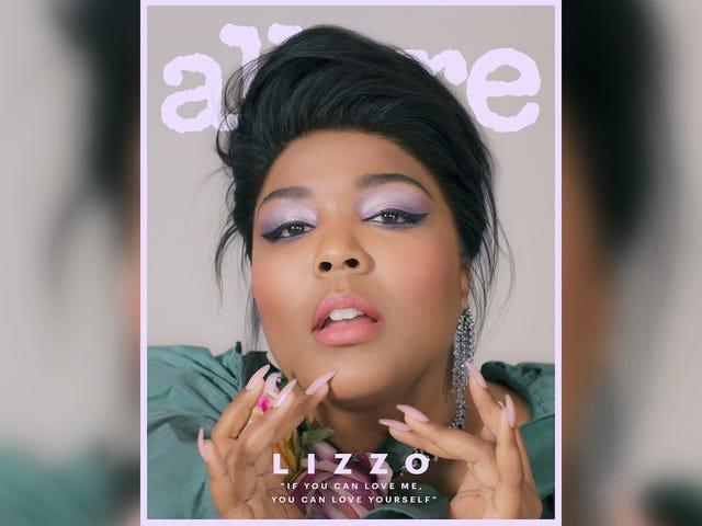 Perdoe-me, a capa Allure de Lizzo é incrível