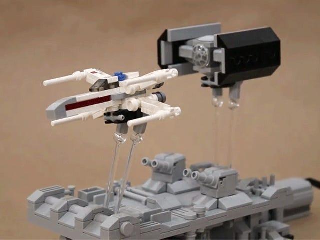 Jeg er hypnotiseret af denne animerede Lego <i>Star Wars</i> Desk Toy