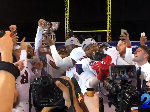 A Two-Win Team Won The Arena Football League Title