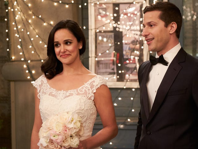 """With the promise of a new day, """"Jake & Amy"""" makes a near perfectBrooklyn Nine-Nineending"""