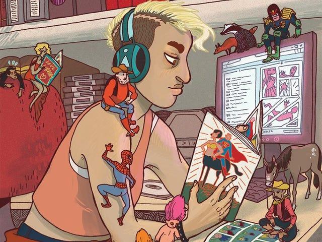 Dundee University unveils untold treasures of Comicopolis