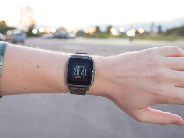 Tiada jubile tu Pebble todavía.  Ini adalah perkhidmatan yang terbaik untuk mengendalikan smartwatch