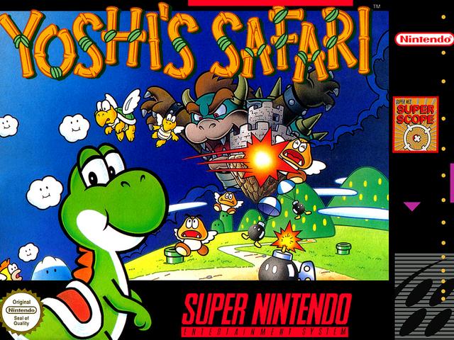 Warped Pipes: Давайте поговоримо про той час Маріо використовував прямий пістолет в Yoshi's Safari