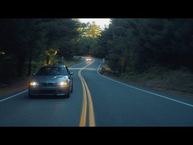 BMW E46 M3 // 4K βιντεοκασέτα στη Νέα Αγγλία