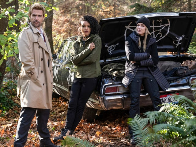 Supernatural Is Crossing Over With Legends of Tomorrow...via Car