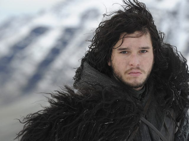 Ha Ha, Jon Snow Can't Cut His Hair Until Game Of Thrones Ends