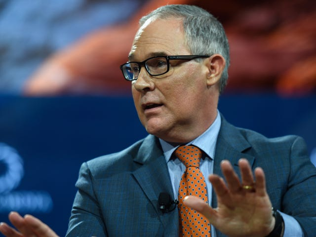 Report: A Chemical Industry Lobbyist Is Writing Toxic Chemical Rules at Scott Pruitt's EPA