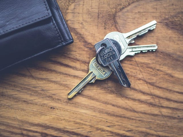 Stash Your Keys Under Important Items so You Don't Leave Them Behind